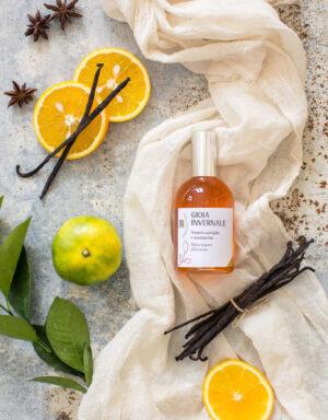 Gioia Invernale: Profumo Naturale con Mandarino e Vaniglia - Olfattiva