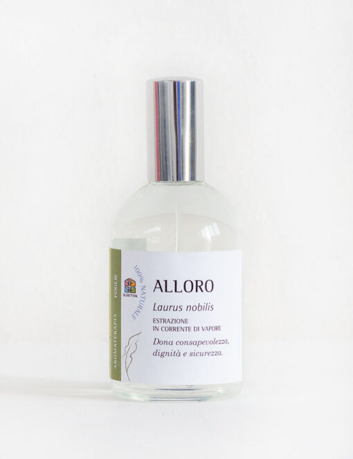 Alloro: Spray per Aromaterapia con Olio essenziale -Olfattiva