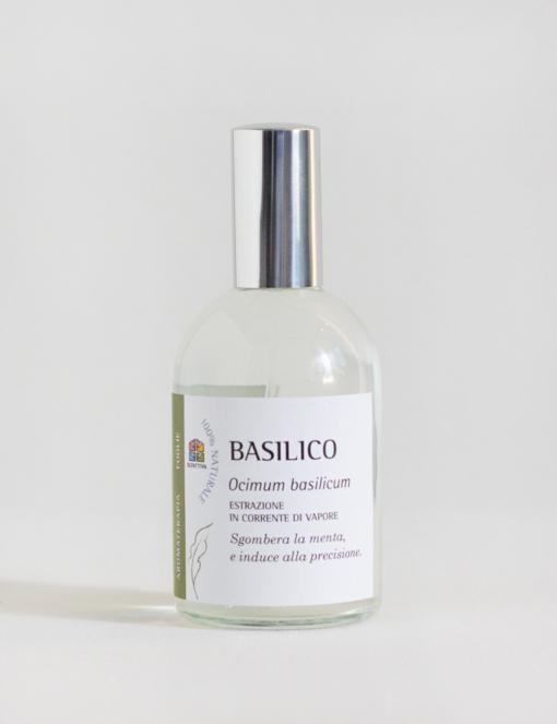 Basilico: Spray per Aromaterapia con Olio essenziale -Olfattiva