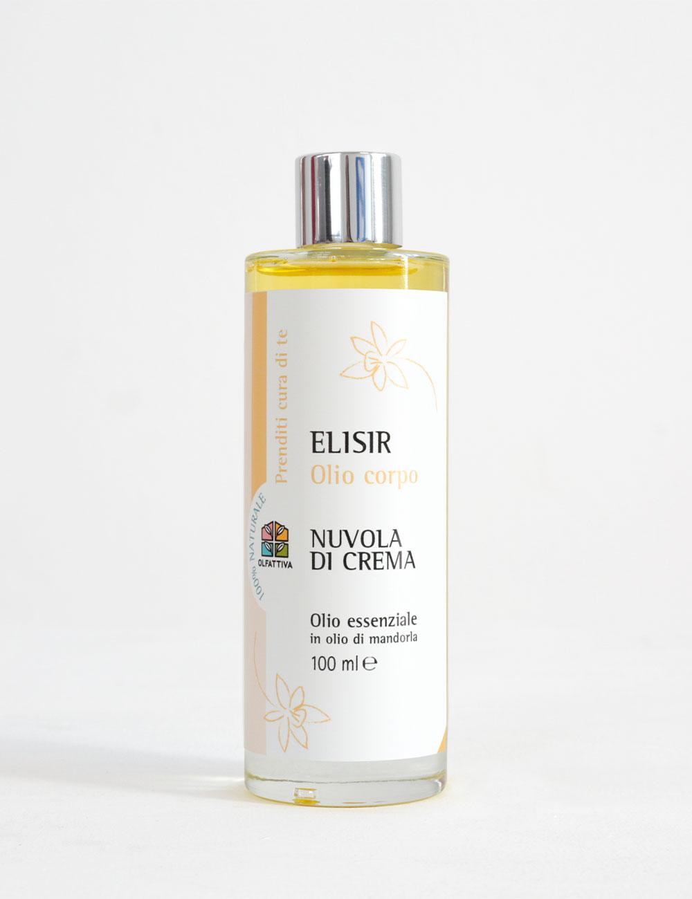 Olio Corpo Profumato Naturale: Nuvola di Crema - Olfattiva