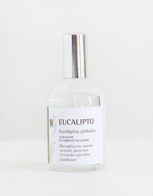 Eucalipto: Spray per Aromaterapia con Olio essenziale -Olfattiva