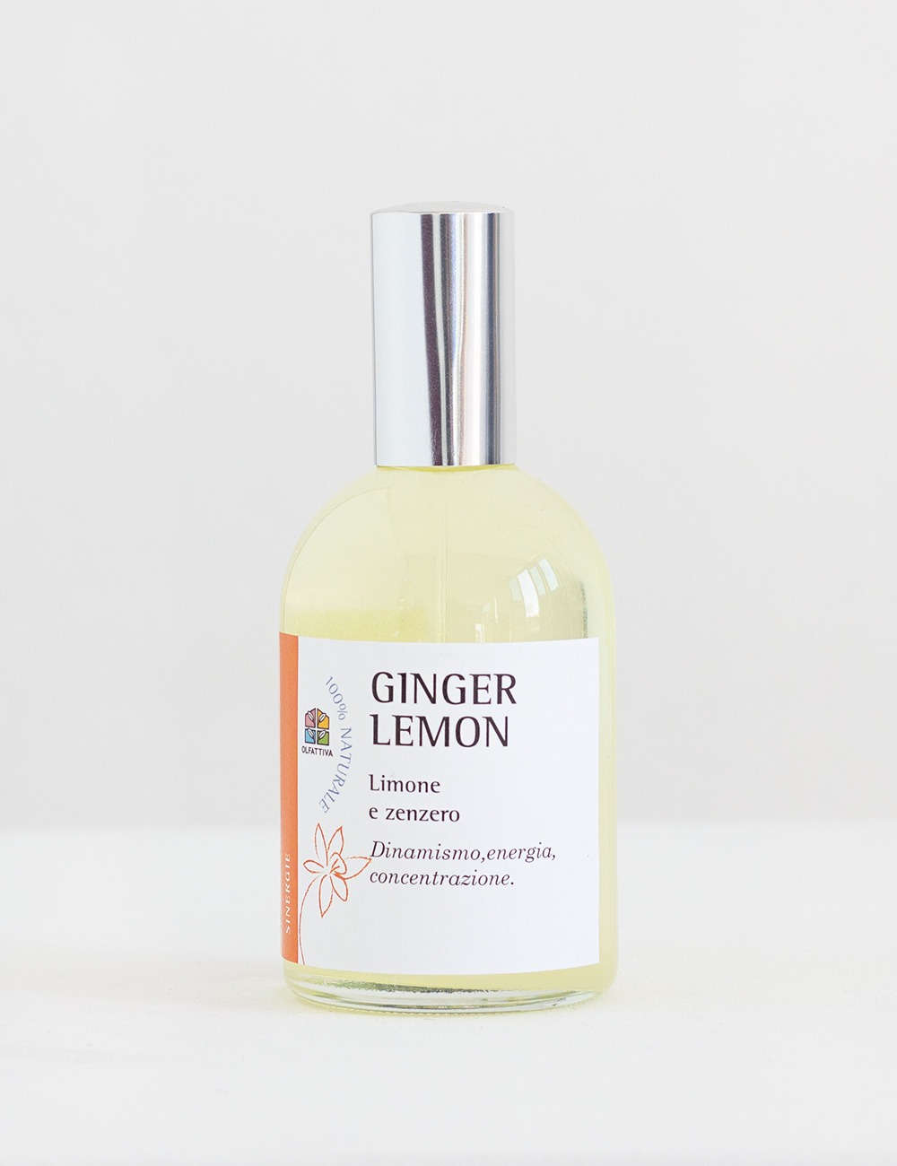 Ginger Lemon: Spray per Aromaterapia -Olfattiva
