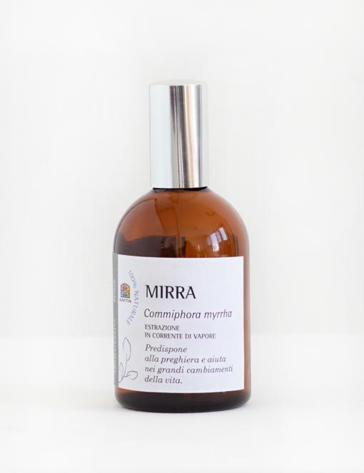 Mirra: Spray per Aromaterapia con Olio essenziale -Olfattiva