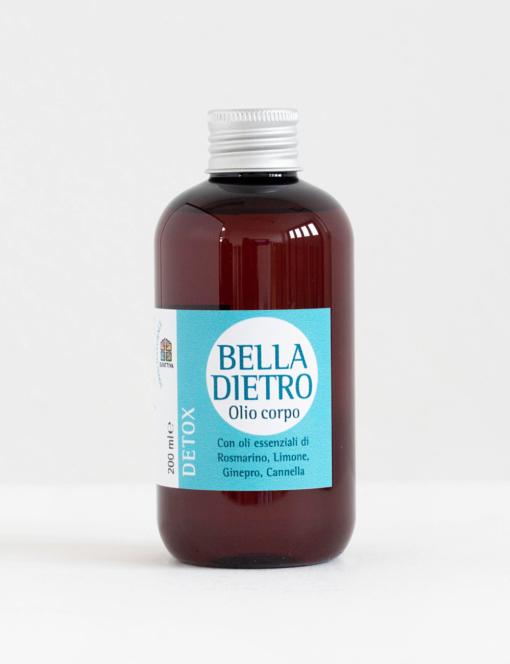 olio corpo bella dietro- detox