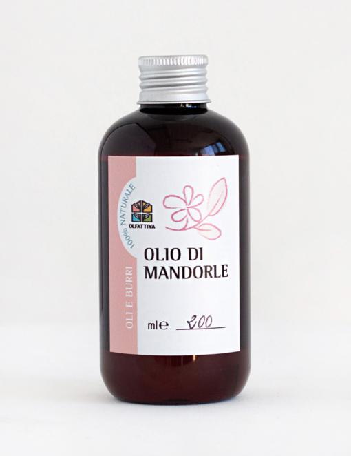 Olio di Mandorle Dolci: viso, corpo, capelli - 200 ml - Olfattiva