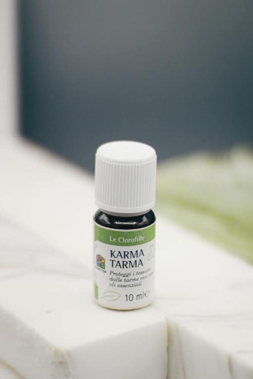 olio essenziale karma tarma