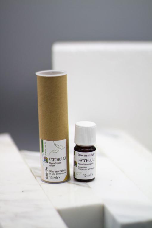 olio essenziale patchouli confezione