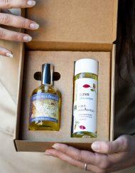 Cofanetto con Profumo e Olio Corpo: Acqua dell'Angelo - Olfattiva