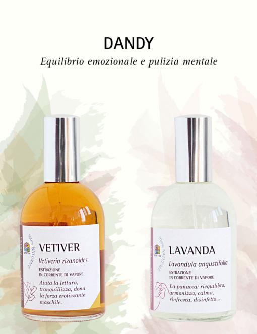 Vetiver e Lavanda: Dandy, Profumo da Uomo in 2 Fasi - Olfattiva
