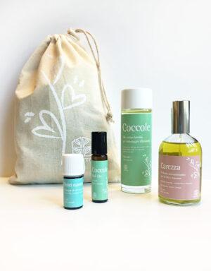 Kit di prodotti di Aromaterapia per Bimbi: Coccole - Olfattiva