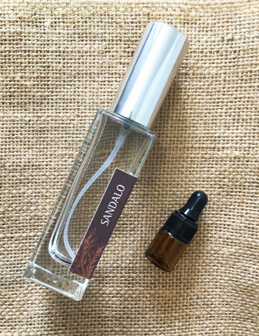 Profumo 30 ml e Olio Essenziale di Sandalo - Olfattiva