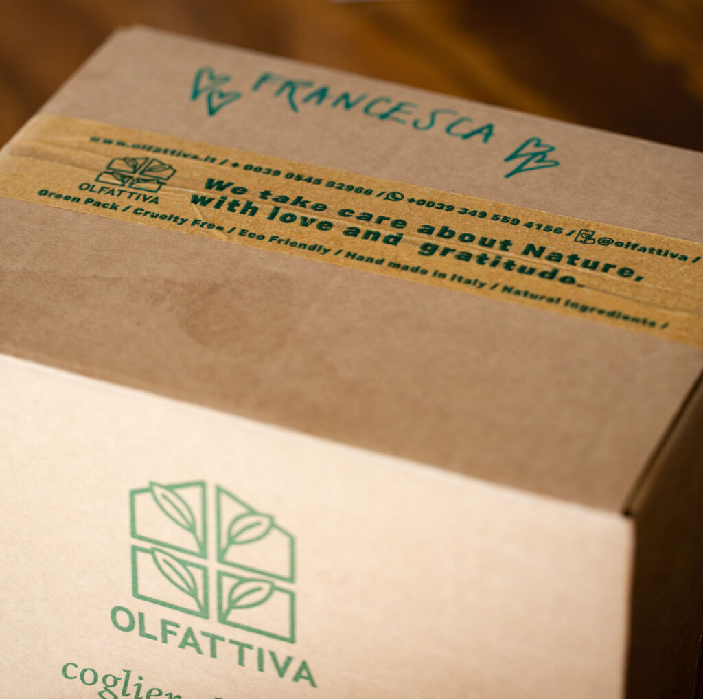 Packaging ecologico Olfattiva