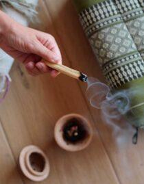 Linea rituale Fumigazione