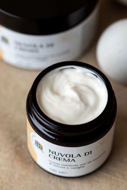 Crema Corpo Naturale aperta: Nuvola di Crema - 100 ml - Olfattiva