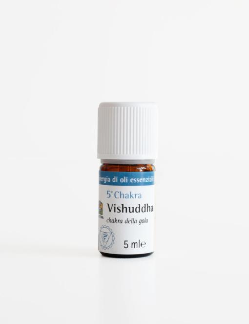 Sinergia di oli essenziali Vishuddha per il Quinto Chakra