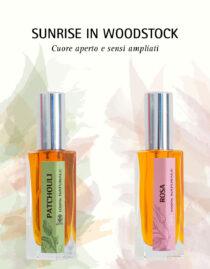 Patchouli e Rosa: Sunrise in Woodstock, Profumo in 2 Fasi - Olfattiva