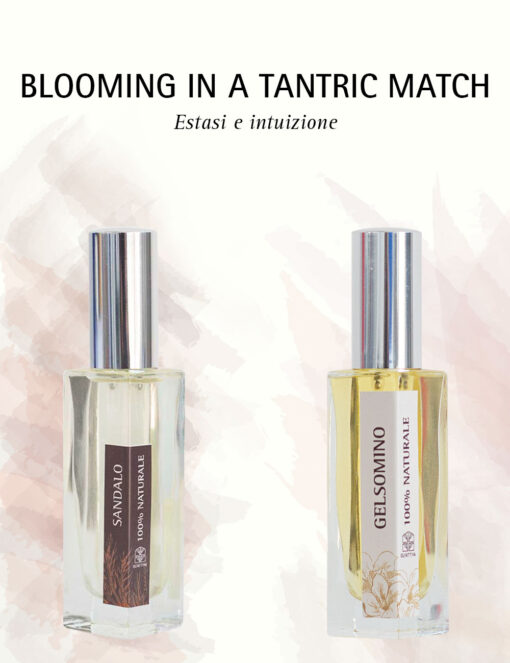 Gelsomino e Sandalo: Blooming in a tantric match, Profumo in 2 Fasi - Olfattiva